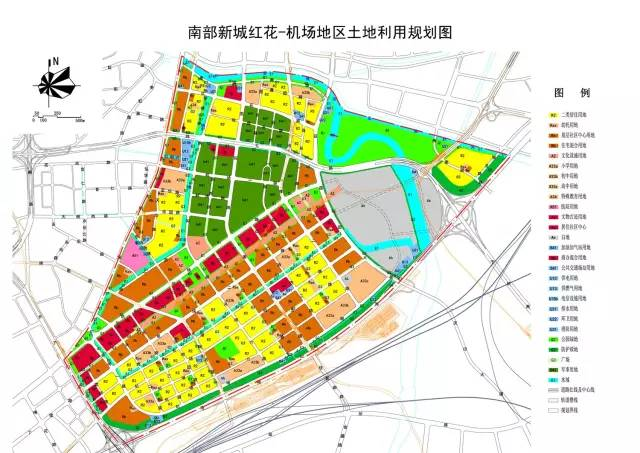 城乡土地规划图例
